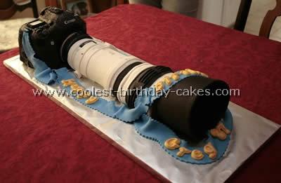 Canon Camera Cake Design : Coolest Birthday Cake Design Ideas