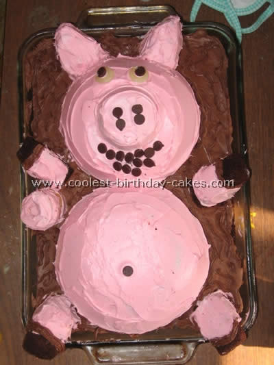 coolest pig cakes and other birthday cake ideas