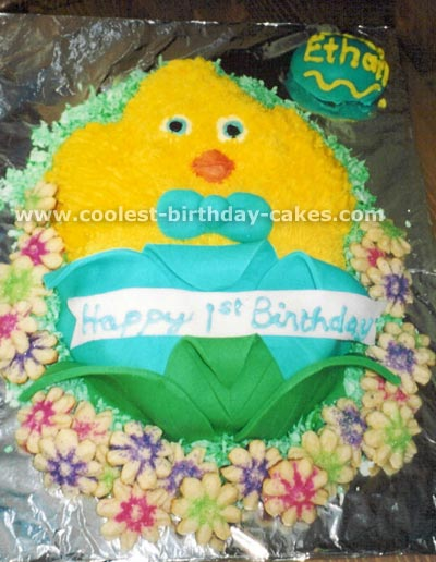 Chicken Birthday Cake Ideas for Children