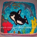 Whales and Orcas Birthday Cakes