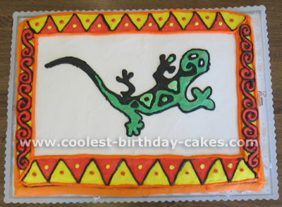 Coolest homemade lizard cakes coolest lizard birthday cake photos and how to tips 3 pronofoot35fo Choice Image