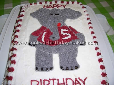 Coolest Homemade Elephant Cakes