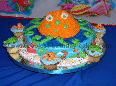 Octopus Cake Picture