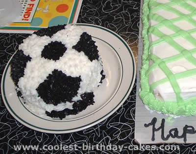 Soccer Birthday Cake Picture