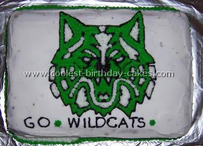 University Emblem Cake