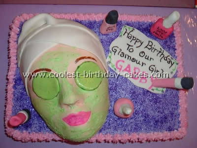 Ideas for Spa and Glamour birthday bakes to make