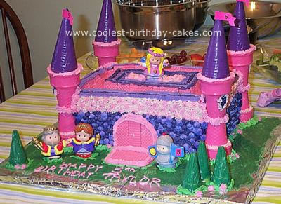 5th Birthday Castle Cake