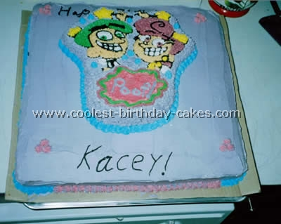 Fairly Odd Parents Birthday Cake
