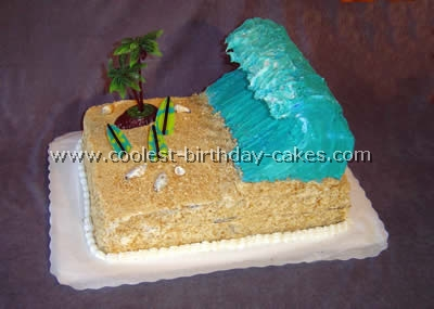 Coolest Homemade Surfing Cakes