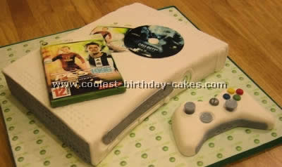 Coolest Homemade Playstation Xbox And Gaming Devices Cakes
