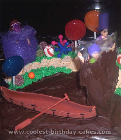 Willy Wonka and the Chocolate Factory Birthday Cake Photos