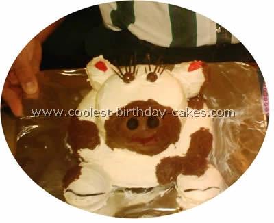 Cow Birthday Cake Picture