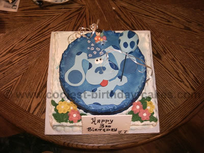 Blue's Clues Cake