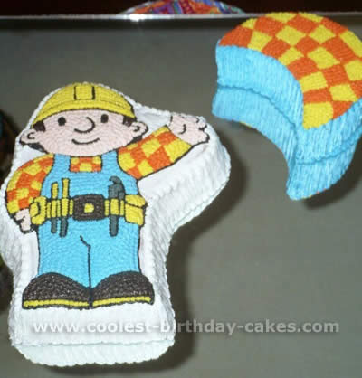 Bob the Builder Cake Picture