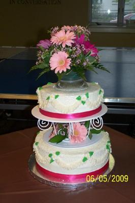 2 tier Bridal Shower Cake