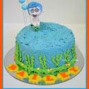 Bubble Guppies Birthday Cakes