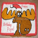 Rocky and Bullwinkle Birthday Cakes