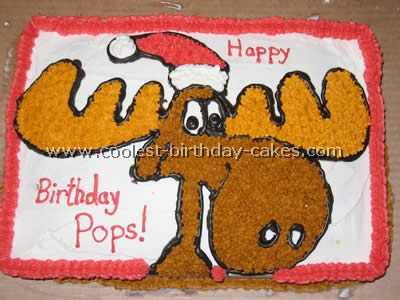 Bullwinkle Cake Photo