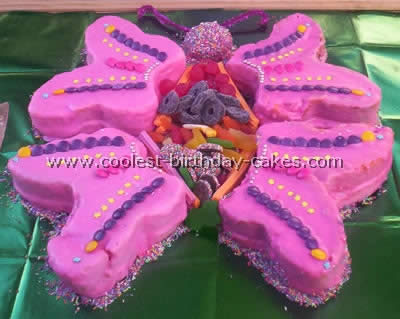 Butterfly Birthday Cakes