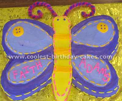 Butterfly Cake Photo