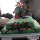 Garden Scene Birthday Cakes