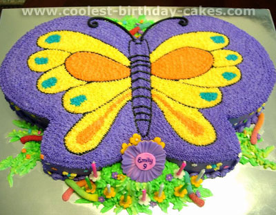 Coolest Butterfly Cakes