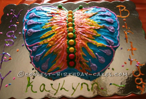 Coolest Butterfly Cake