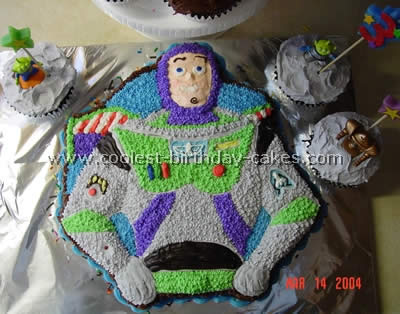 Buzz Lightyear Cake Photo