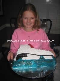 Ice Skating Cake