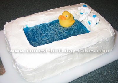 Bathtub Cake Baking Tips