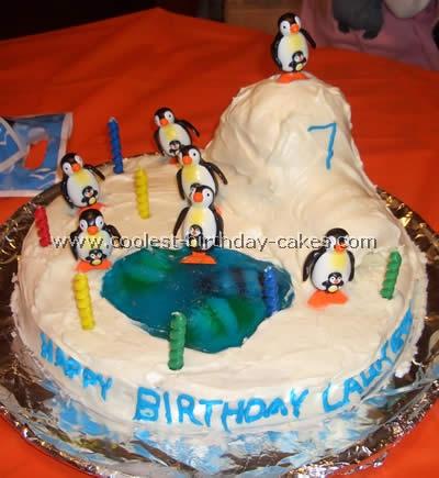 Cake Designs Ideas mini wedding cake ideas Penguin Cake Decorating Design Ideas