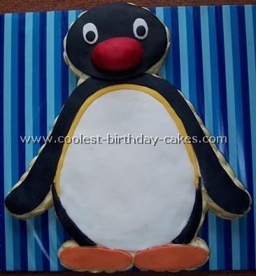 Penguin Cake Decorating Design Ideas