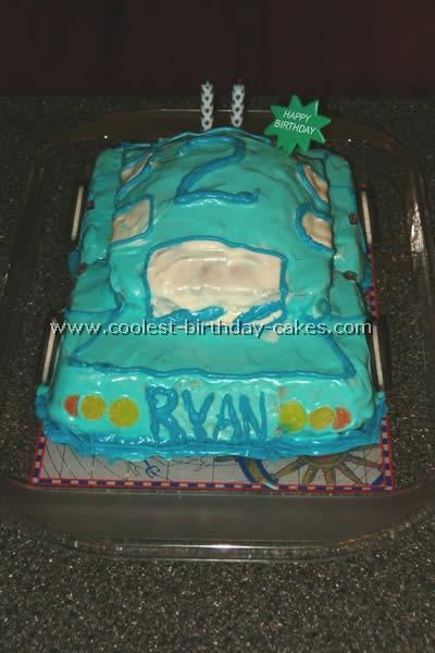 Car Cake Picture