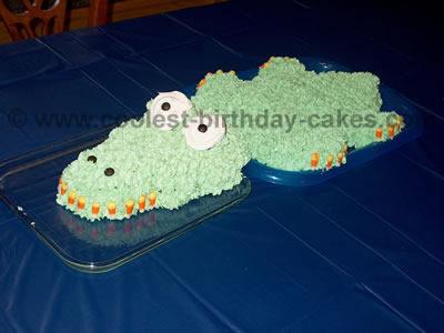 Alligator Birthday Cake Pictures