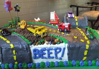 City Scene Cake