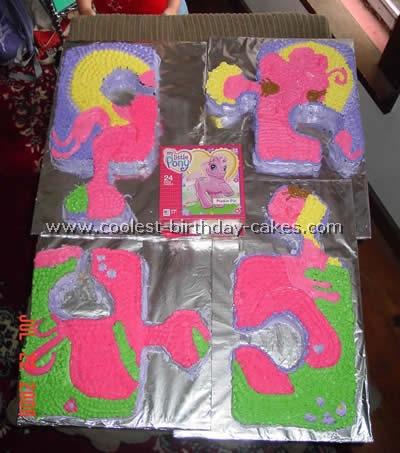 My Little Pony Cake Design Photo