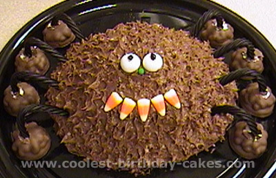 Coolest Homemade Spider Cakes