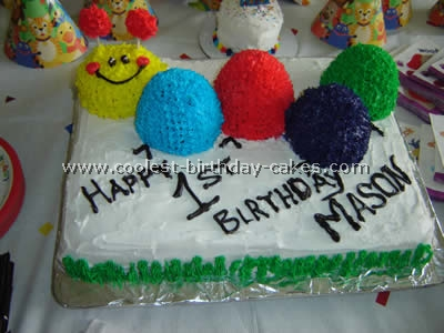 Caterpillar Birthday Cake Picture