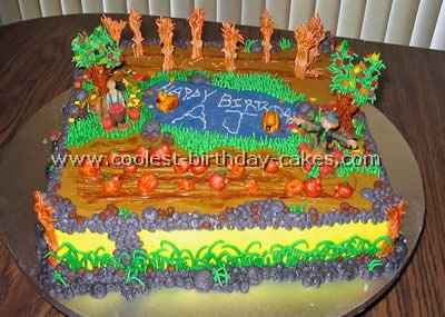 captivating garden design birthday cake - Garden Design Birthday Cake