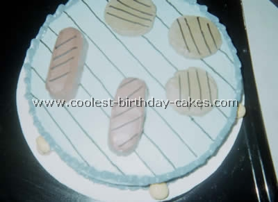 BBQ and Meat-Shaped Cake Recipies