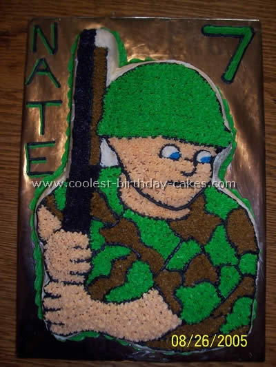 Solider Cake Decorating Ideas