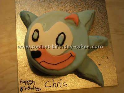 Sonic the Hedgehog Cake Design