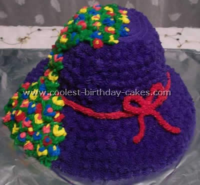 Hat-Shaped Cake Idea