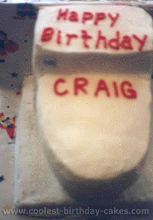 Toilet Cake Photo