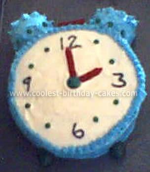Clock-Shaped Cake Recipe