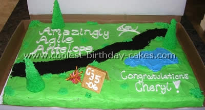 Coolest Homemade Camping Cake Ideas 1