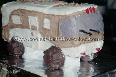RV Camping Cake