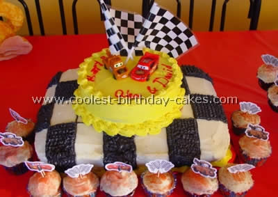 Disney's Cars Birthday Cake