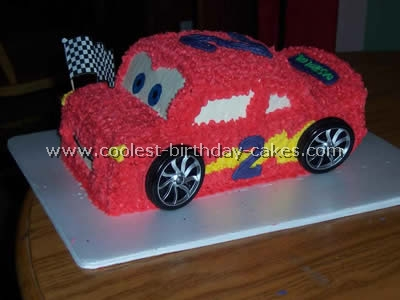Coolest Homemade Lightning McQueen Cakes
