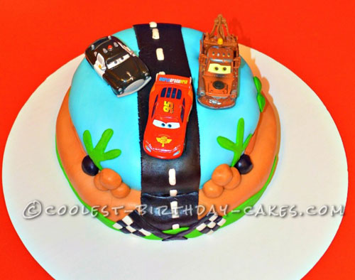 Coolest Disney Car Cakes